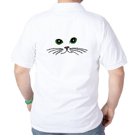Cats Face Polo Shirt