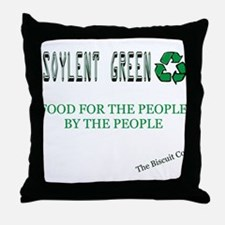 Soylent Green People Throw Pillow
