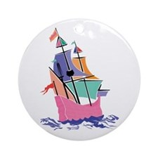Mayflower Colors Ornament (Round)