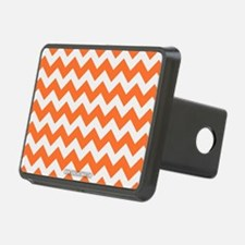 Chevron Orange Hitch Cover