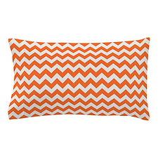 Chevron Orange Pillow Case