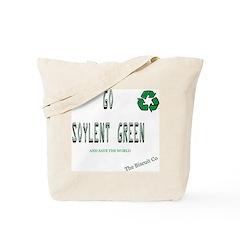 Go Soylent Green Tote Bag
