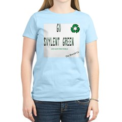 Go Soylent Green Women's Pink T-Shirt