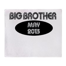 BIG BROTHER MAY 2013 Throw Blanket