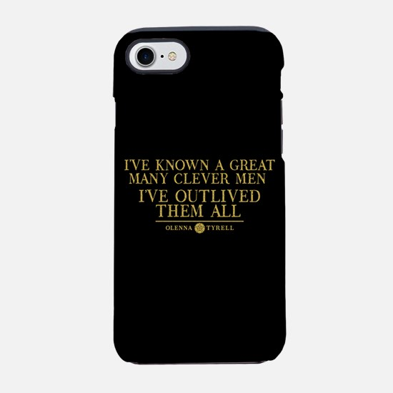 GOT Olenna Clever Men iPhone 7 Tough Case