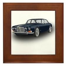 Jaguar XJ6 Framed Tile
