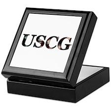 USCG (Flag) Keepsake Box