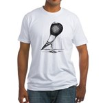 Swing Pouter Pigeon Fitted T-Shirt