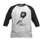 Swing Pouter Pigeon Kids Baseball Jersey