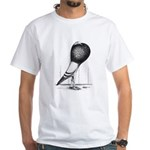 Swing Pouter Pigeon White T-Shirt