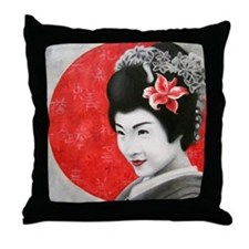 Geisha Pillow