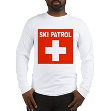 Ski Patrol Long Sleeve T-Shirt