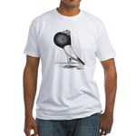 Starwitzer Pouter Pigeon Fitted T-Shirt