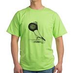 Starwitzer Pouter Pigeon Green T-Shirt