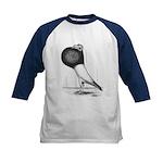 Starwitzer Pouter Pigeon Kids Baseball Jersey
