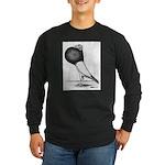 Starwitzer Pouter Pigeon Long Sleeve Dark T-Shirt