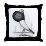 Starwitzer Pouter Pigeon Throw Pillow