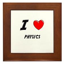 PHYSICS Framed Tile