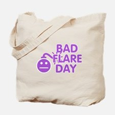 Bad Flare Day Bomb Tote Bag