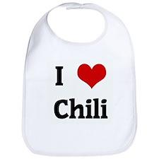 I Love Chili Bib
