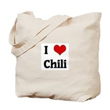 I Love Chili Tote Bag