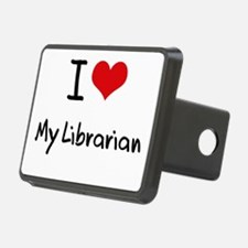 I Love My Librarian Hitch Cover