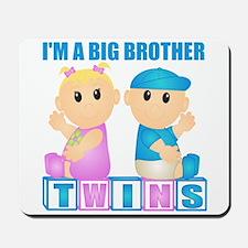 I'm A Big Brother (BBG:blk) Mousepad