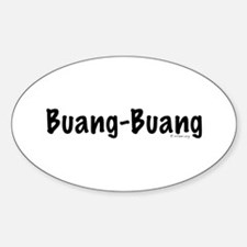 Buang-Buang Oval Decal