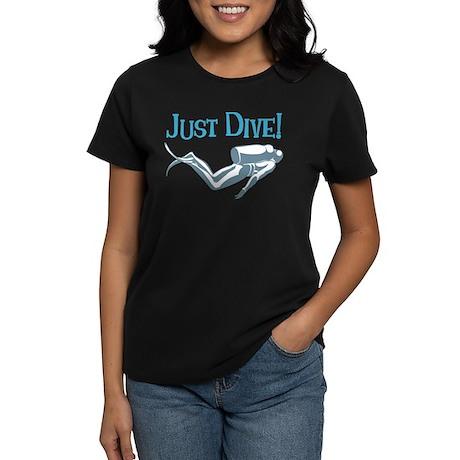 Just Dive Women's Dark T-Shirt