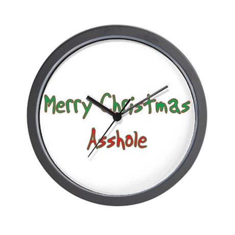 Asshole Clocks | Asshole Wall Clocks | Large, Modern, Kitchen Clocks