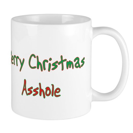 Rude Christmas Coffee Mugs | Rude Christmas Travel Mugs - CafePress