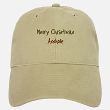Merry Christmas Asshole Cap