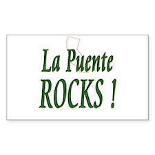 La Puente Rocks ! Rectangle Decal