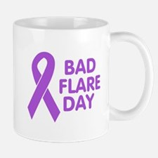 BadFlareDay Purple Ribbon Awareness Mug