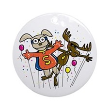 Thanksgiving Parade Ornament (Round)