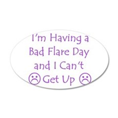 Having a Bad Flare Day Wall Decal