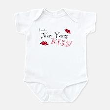 New Years Kiss Infant Bodysuit