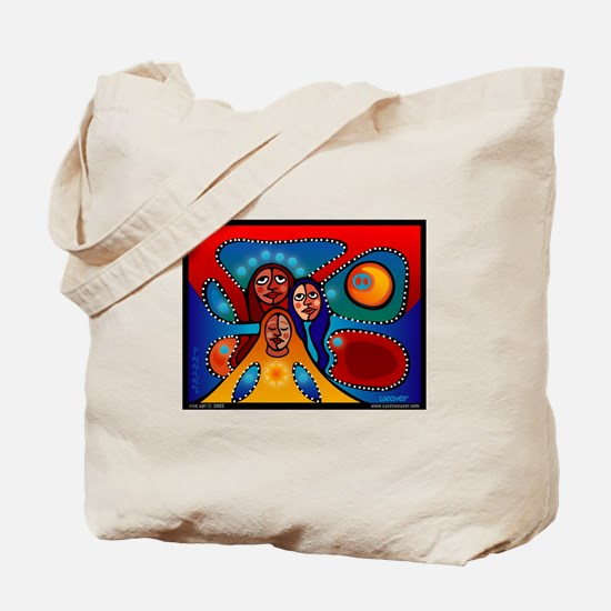 Cute World aids day Tote Bag
