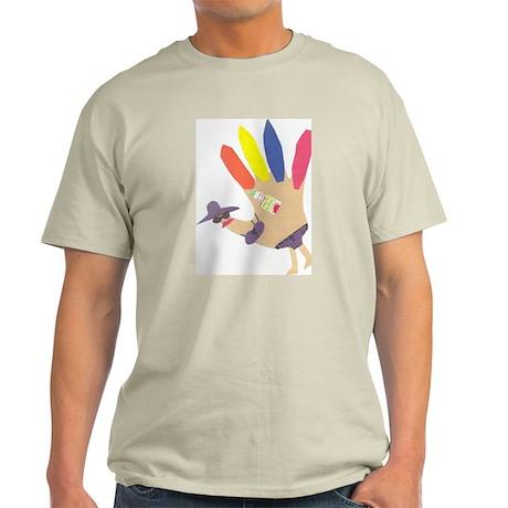 beach girl turkey Ash Grey T-Shirt