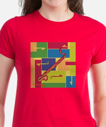 Bass Clarinet Colorblocks Tee