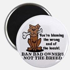 """Ban Bad Owners 2.25"""" Magnet (100 pack)"""