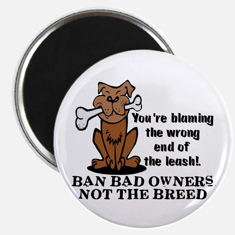 """Ban Bad Owners 2.25"""" Magnet (10 pack)"""