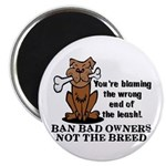 Ban Bad Owners Magnet