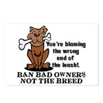 Ban Bad Owners Postcards (Package of 8)