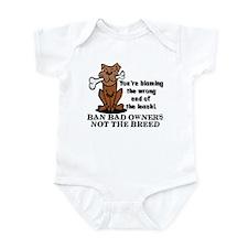 Ban Bad Owners Infant Bodysuit