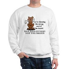 Ban Bad Owners Sweatshirt