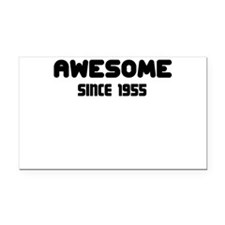 AWESOME SINCE 1955 Rectangle Car Magnet