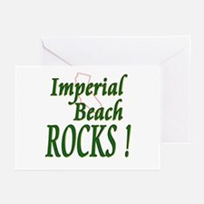 Imperial Beach Rocks ! Greeting Cards (Package of