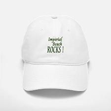 Imperial Beach Rocks ! Baseball Baseball Cap