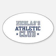 Nicolas Oval Decal